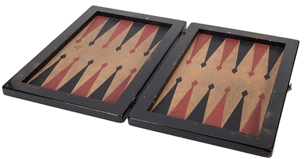 Cole Porter's Own Backgammon Set.