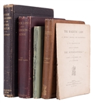 Lot of Four Nineteenth Century Books on Spiritualism and Supernatural Subjects.