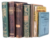 Group of Seven Antiquarian Volumes on Magic and Amusements.