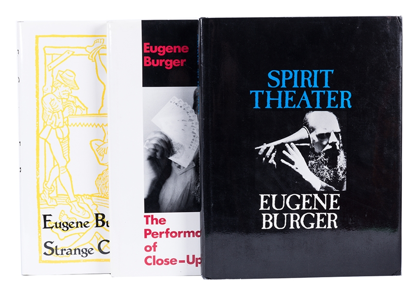 Lot Detail - Three Eugene Burger Books on Magic