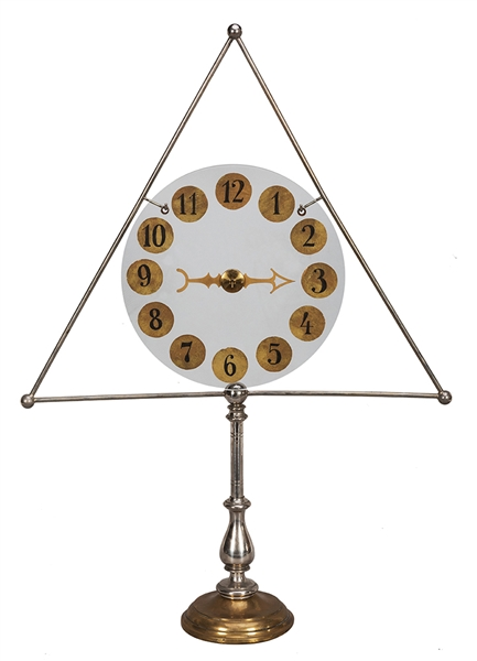 Crystal Clock Dial.