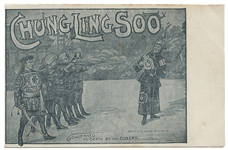 Chung Ling Soo Postcard. Condemned to Death by the Boxers.
