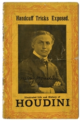 Handcuff Tricks Exposed. Illustrated Life and History of Houdini.