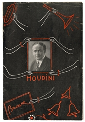 Houdini Spiritualism-Themed Pitch Book.