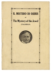 Il Mistero Di Osiris, or The Mystery of the Jewel (Talisman).