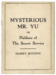 Mysterious Mr. Yu or Haldane of the Secret Service.