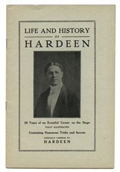 Life and History of Hardeen.