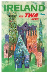 Ireland. Fly TWA Jets.