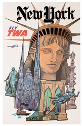 New York. Fly TWA.