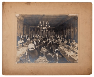 Early Society of American Magicians Banquet Photograph.