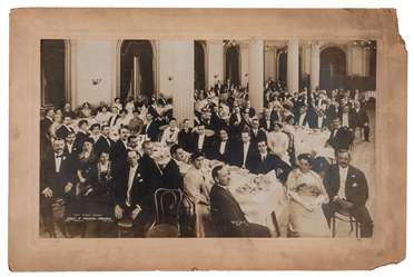 Ninth Annual Society of American Magicians Banquet Photograph.