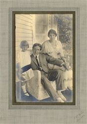 Portrait of Howard Thurston and Family.