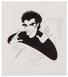David Copperfield by Hirschfeld.