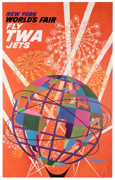 New York World's Fair. Fly TWA Jets.