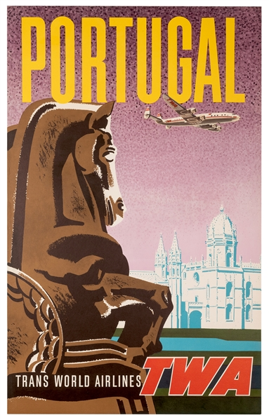 Portugal. Trans World Airlines. TWA.