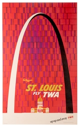 St. Louis. Fly TWA.