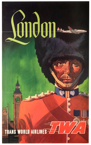 London. Trans World Airlines. TWA.