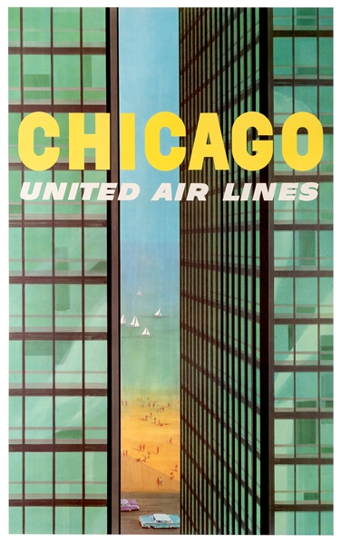 Chicago. United Air Lines.