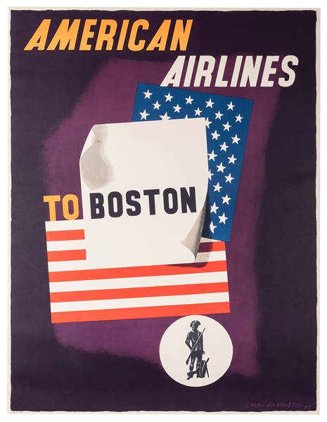 American Airlines to Boston.