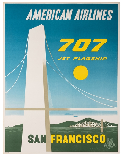 American Airlines. San Francisco.