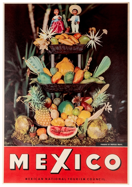 Mexico. Paradise of Tropical Fruits.