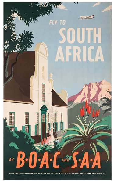 BOAC and SAA Fly to South Africa.