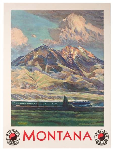 Montana. Northern Pacific Railway.