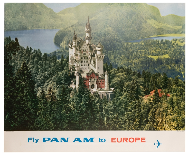 Fly Pan Am to Europe.