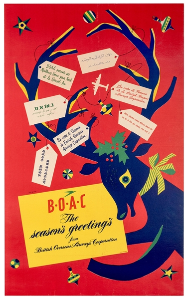 BOAC Season's Greetings.