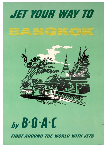 Jet Your Way to Bangkok By BOAC.