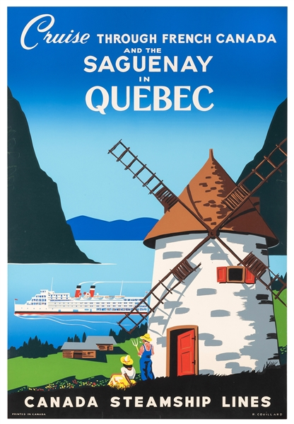 Cruise Through French Canada and the Saguenay In Quebec.