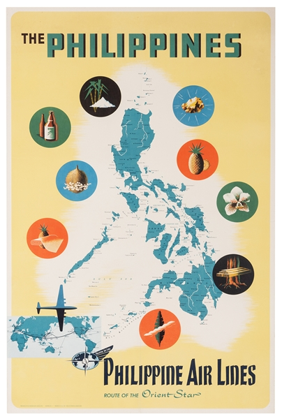 The Philippines. Philippine Air Lines.