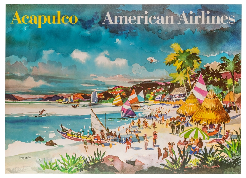 Acapulco. American Airlines.
