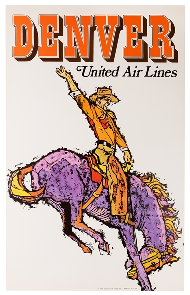 Denver. United Air Lines.