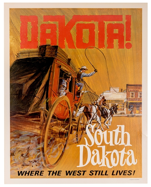 South Dakota. Where the West Still Lives!