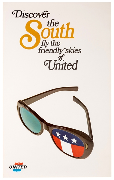 Discover the South. Fly the Friendly Skies of United.