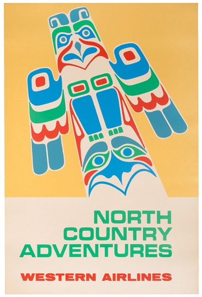 North Country Adventures. Western Airlines.