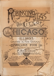 Robinson's Atlas of the City of Chicago.