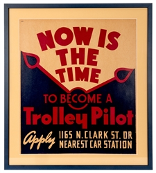 Now Is the Time to Become a Trolley Pilot.