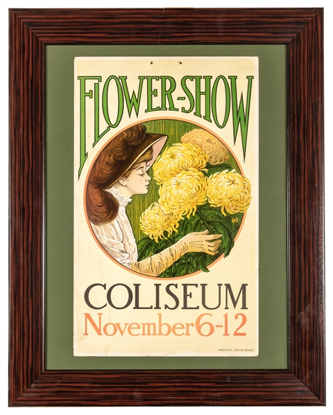 Flower Show. Chicago Coliseum.