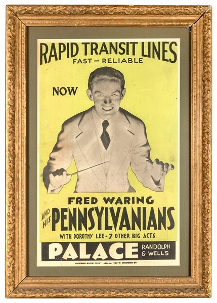 Fred Waring and His Pennsylvanians / Rapid Transit Lines.