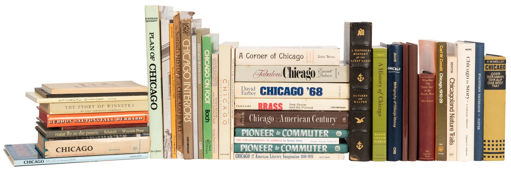 Lot of Modern Books on Chicago and Regional History.