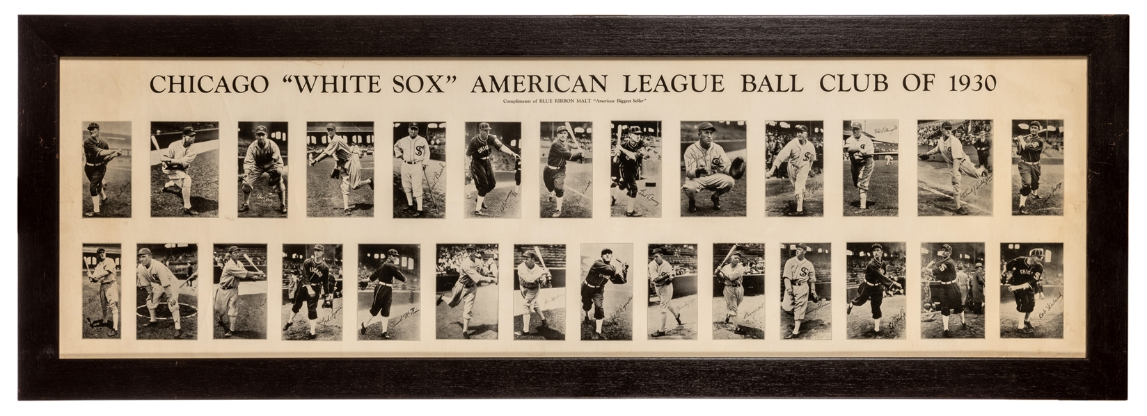 Chicago White Sox 1930 Panoramic Composite.