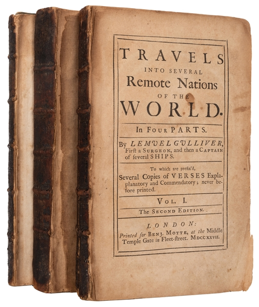 Travels into Several Remote Nations of the World. By Capt. Lemuel Gulliver.