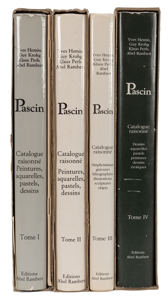 Pascin: Catalogue Raisonne.