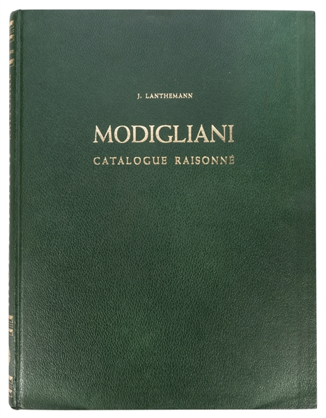 Modigliani 1884 – 1920 Catalogue Raisonné.