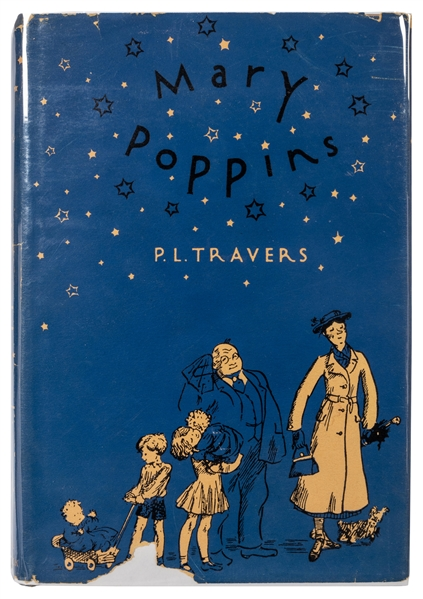 Mary Poppins / Marry Poppins Comes Back. Signed.