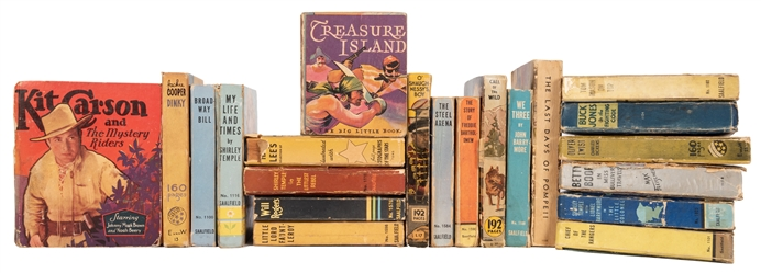 Film, Television, and Classic Literature. 40 Big Little Books.