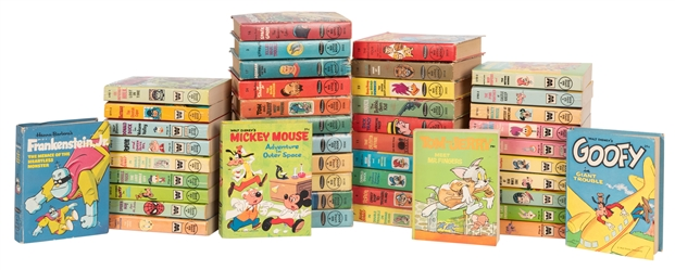 Pop Culture Characters and Series. 44 Big Little Books.
