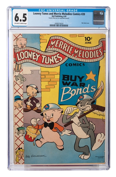 Looney Tunes and Merrie Melodies Comics No. 20.